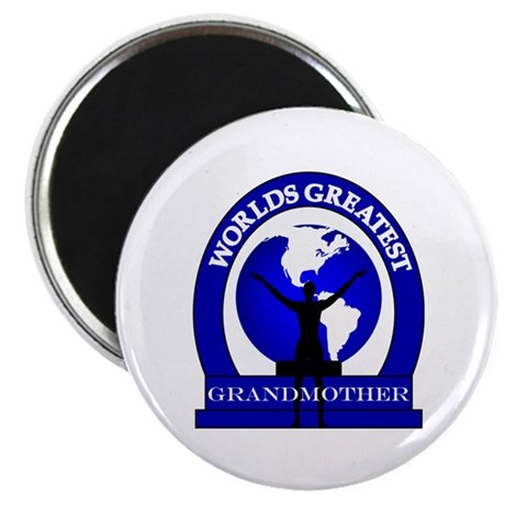 Worlds Greatest Grandmother Magnet