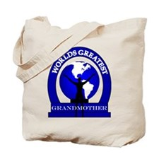 Worlds Greatest Grandmother Tote Bag