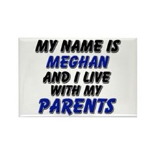 my name is meghan and I live with my parents Recta