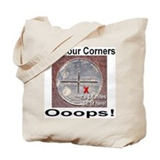 The Four Corners Tote Bag