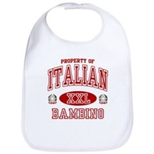 Italian Bambino Bib