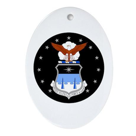Air Force Academy Oval Ornament