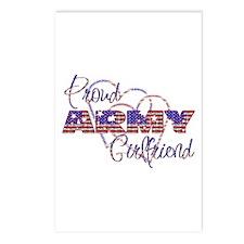 Proud ARMY Girlfriend Postcards (Package of 8)