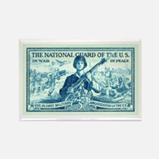 Cute Military and patriotism Rectangle Magnet