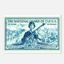 Cute Army national guard Postcards (Package of 8)