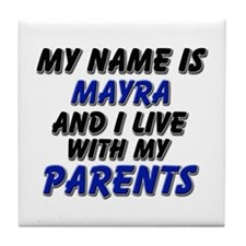 my name is mayra and I live with my parents Tile C