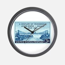 Funny Philately Wall Clock