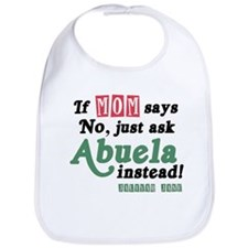 Just Ask Abuela! Baby Bib