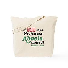 Just Ask Abuela! Tote Bag