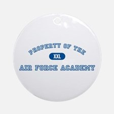 Property of the AFA Ornament (Round)