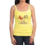 Womans 45 birthday Tanks/Sleeveless
