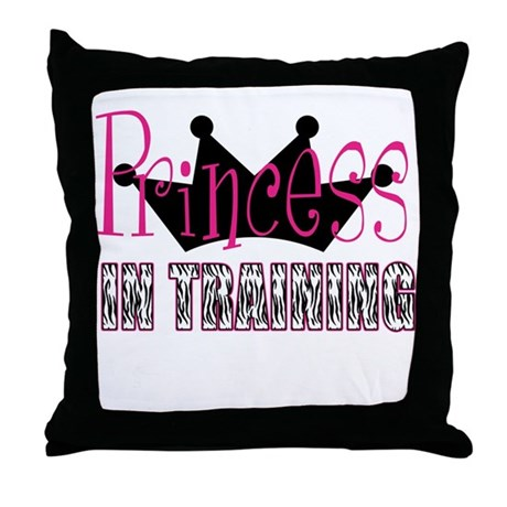 Princess In Training Throw Pillow