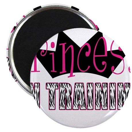 "Princess In Training 2.25"" Magnet (100 pack)"