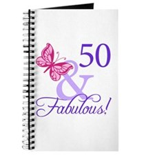 50 And Fabulous Birthday Gifts Journal