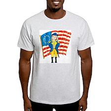 Battle Bunny Ash Grey T-Shirt