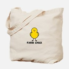 Farm Chick Tote Bag