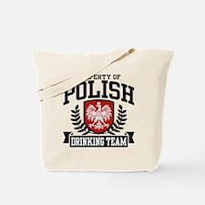 Polish Drinking Team Tote Bag