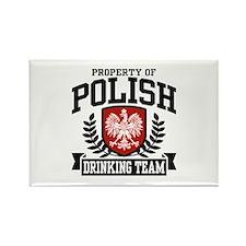 Polish Drinking Team Rectangle Magnet