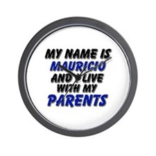 my name is mauricio and I live with my parents Wal