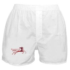 Equestrian Horse Boxer Shorts