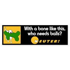 Big Bone! Bumper Bumper Sticker