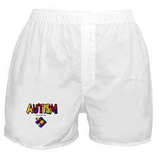 """Autism - A Beautiful Mind"" Boxer Shorts"