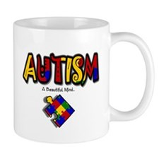 """Autism - A Beautiful Mind"" Mug"