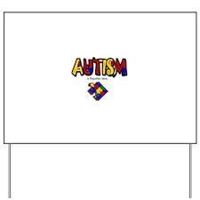"""Autism - A Beautiful Mind"" Yard Sign"