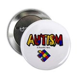 Autism pins Buttons