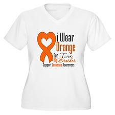 Leukemia - Twin Brother T-Shirt