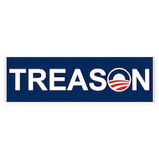 Treason Bumper Bumper Sticker