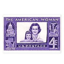 Cute Post feminist Postcards (Package of 8)