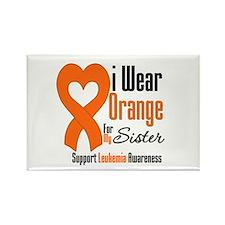 Leukemia Sister Rectangle Magnet (10 pack)