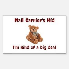 Mail Carrier Rectangle Sticker 10 pk)