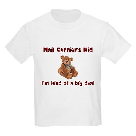 Mail Carrier Kids Light T-Shirt