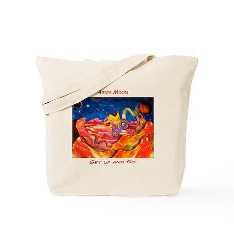 Aries Moon-Leo makes tracks Tote Bag