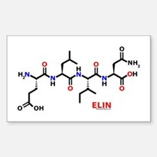 Elin molecularshirts.com Sticker (Rectangle)