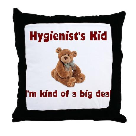 Hygienist Throw Pillow