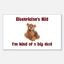 Electrician Rectangle Decal