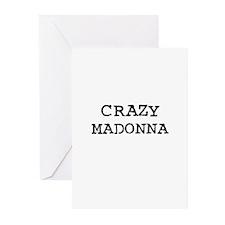 CRAZY MADONNA Greeting Cards (Pk of 10)