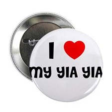 I LOVE MY YIA YIA Button