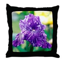 Iris - Throw Pillow