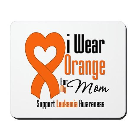 Leukemia Mom Mousepad