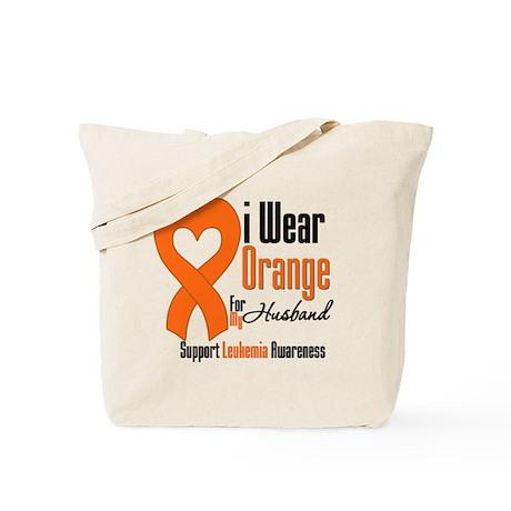 Leukemia Husband Tote Bag