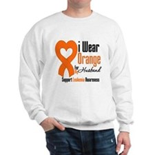 Leukemia Husband Sweatshirt