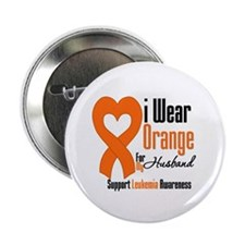 "Leukemia Husband 2.25"" Button"