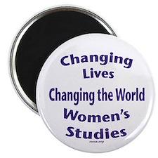 """Women's Studies 2.5"""" Magnet"""