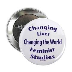 """2.25"""" Feminist Studies Button"""