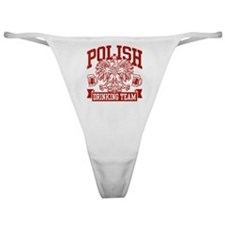 Polish Drinking Team Classic Thong