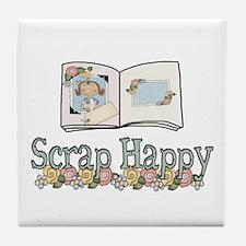 Scrap Happy Tile Coaster